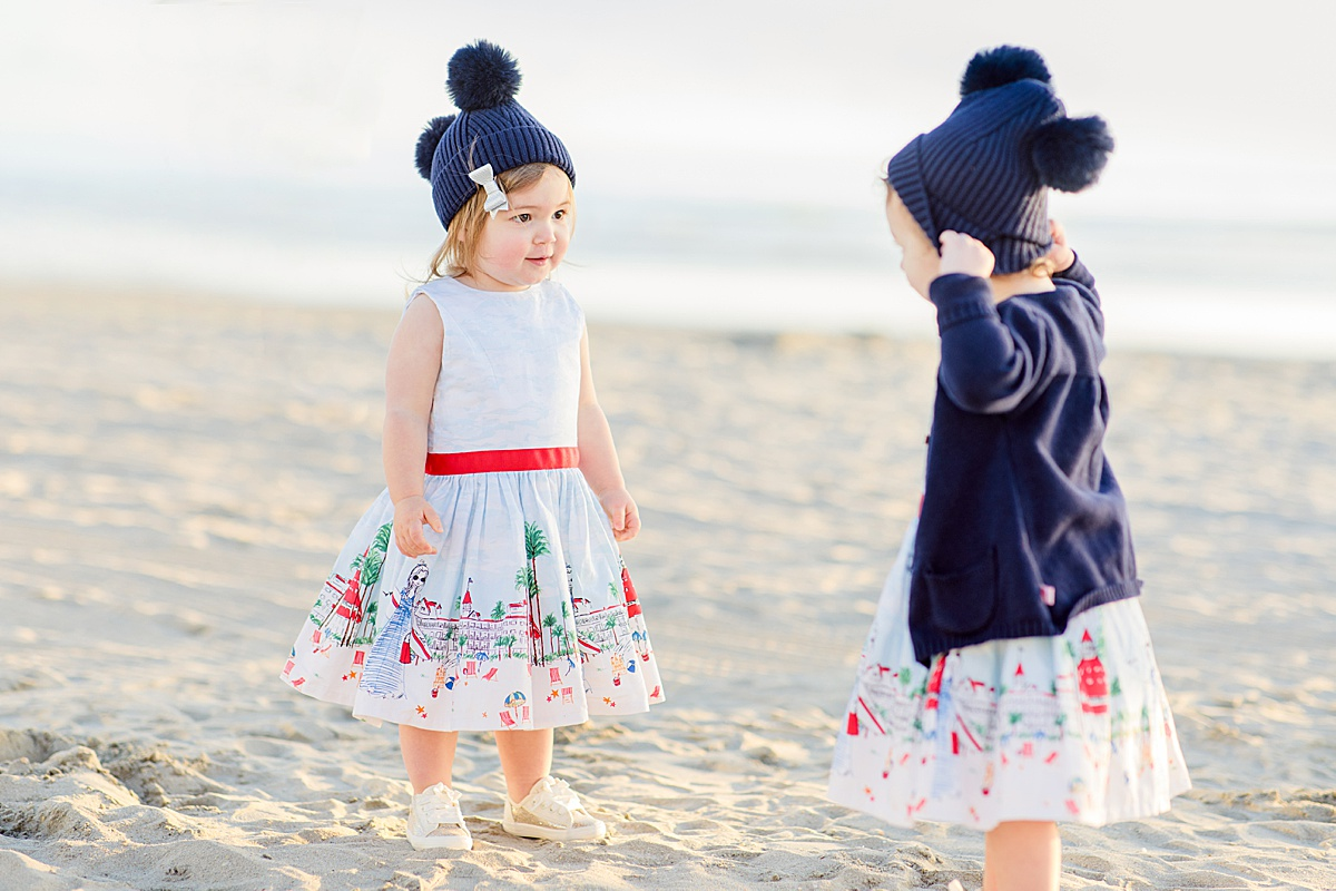 Little Girls on the Beach | Photography in San Diego
