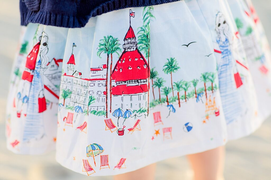 Hotel del Coronado Toddler Dress