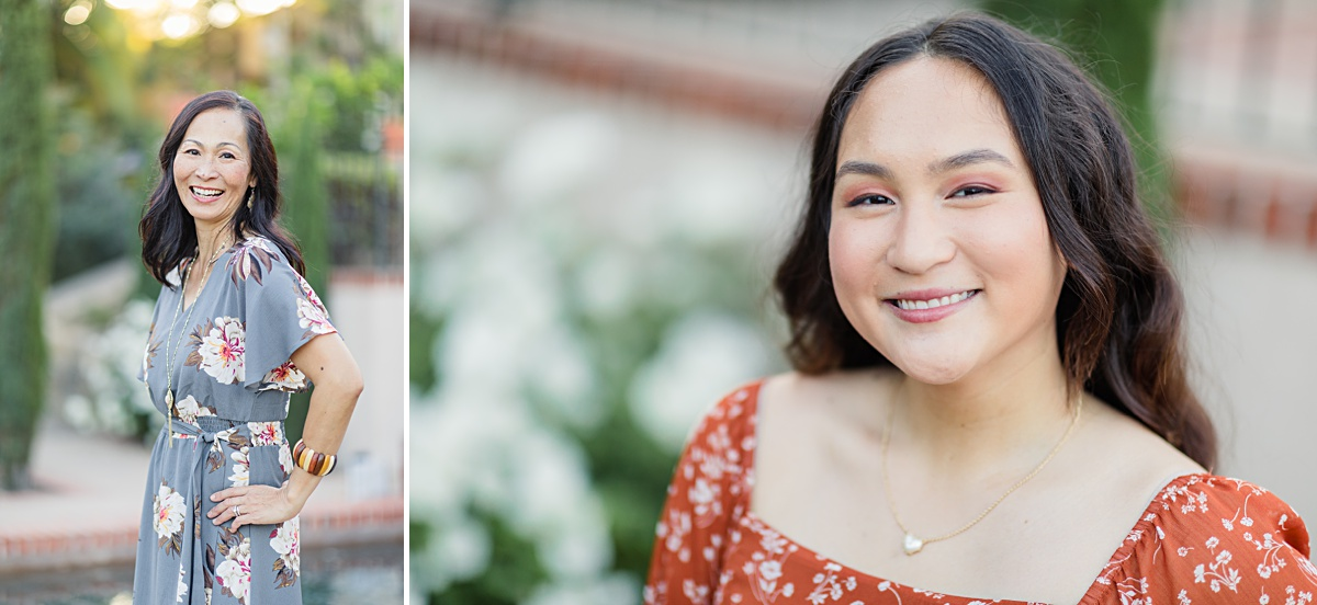 Mother-Daughter Portraits | Photos in Balboa Park San Diego
