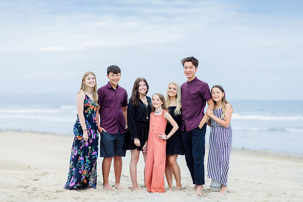 Blended Family Portraits San Diego
