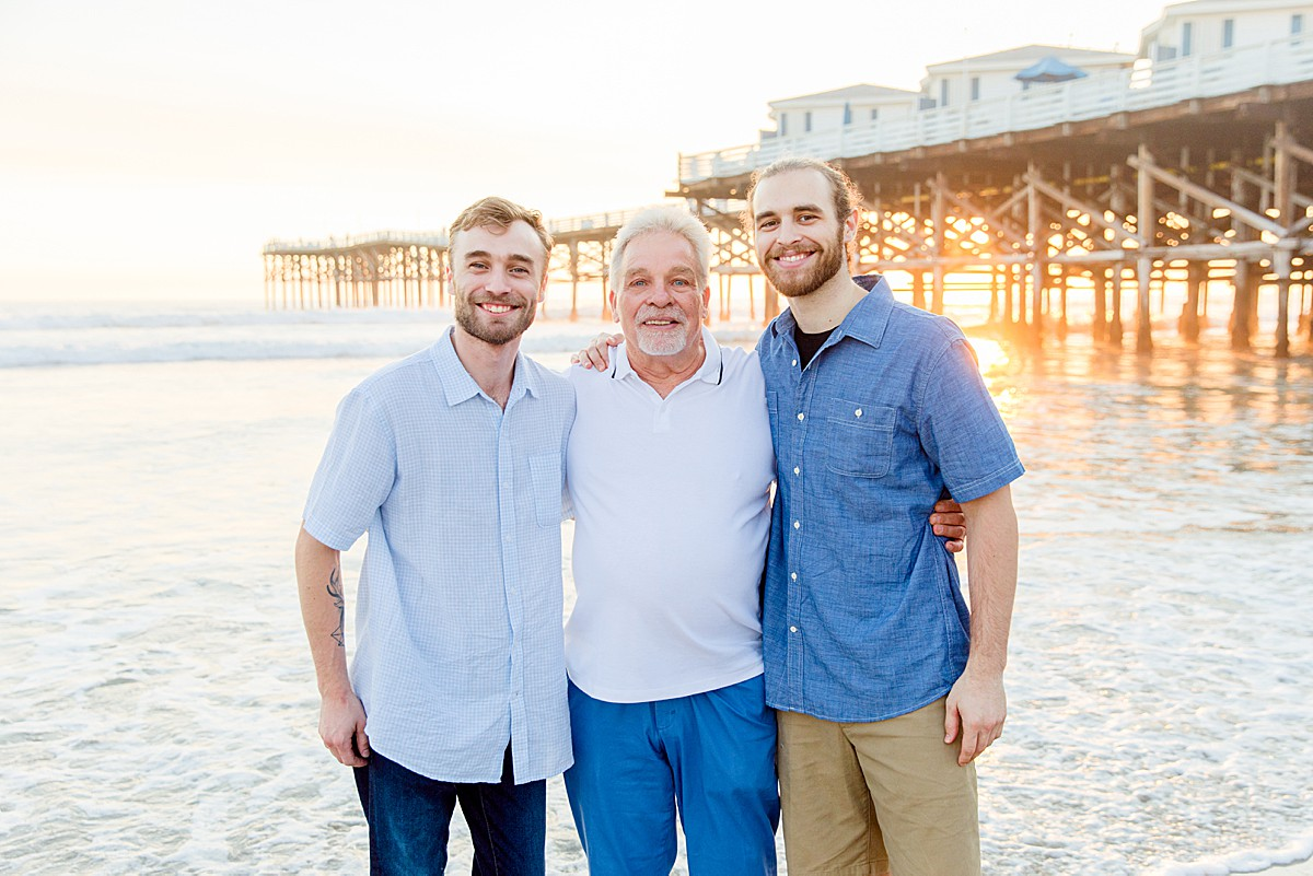 Grandfather with Adult Grandsons