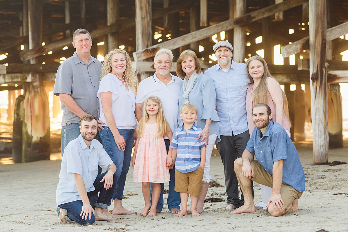 Portraits San Diego | Extended Family Portraits
