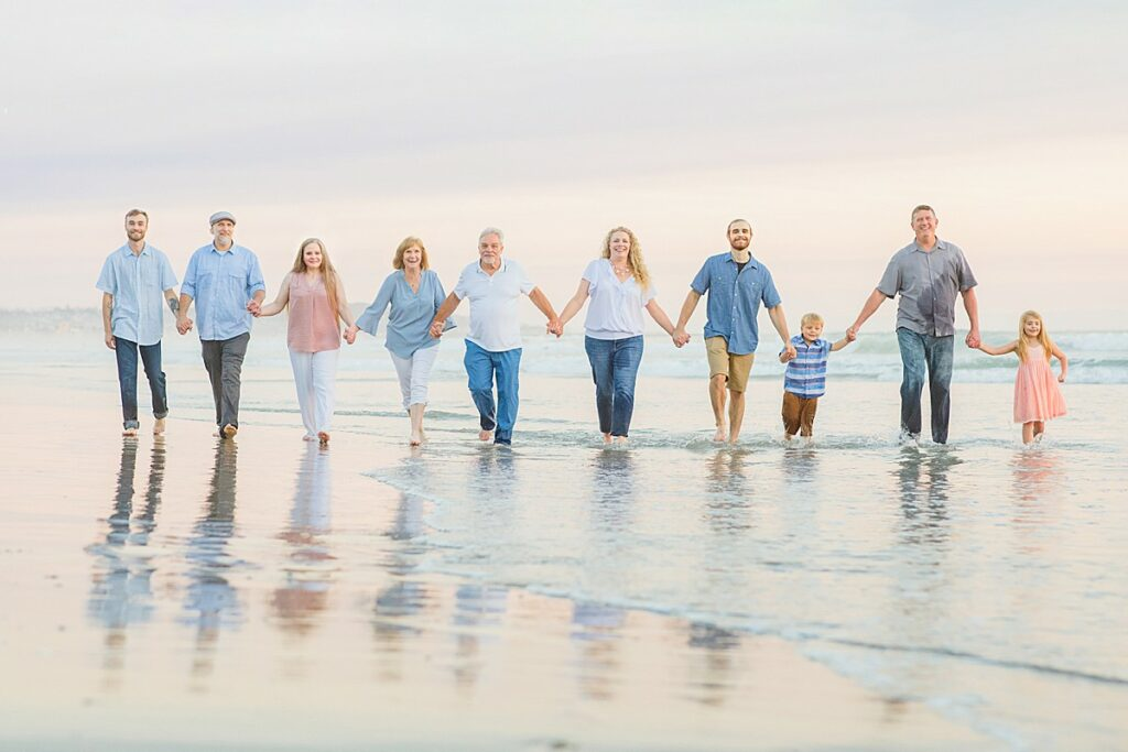 Extended Family Photography San Diego