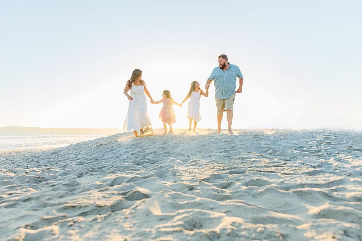 Beach Family Photos in San Diego