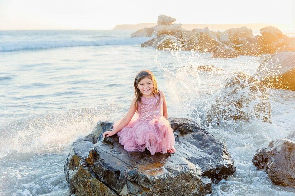 Little Girl Mermaid Photo
