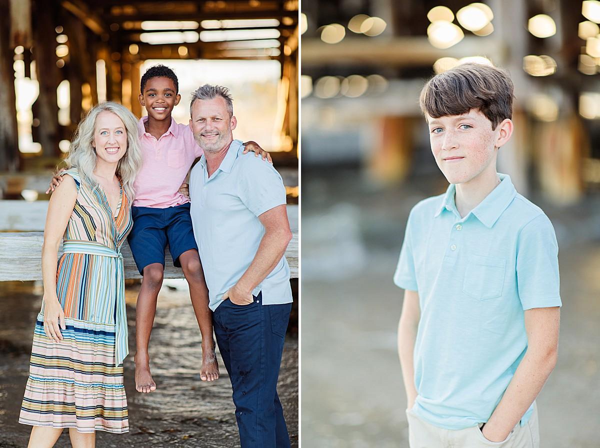 Family Photos on the Beach San Diego