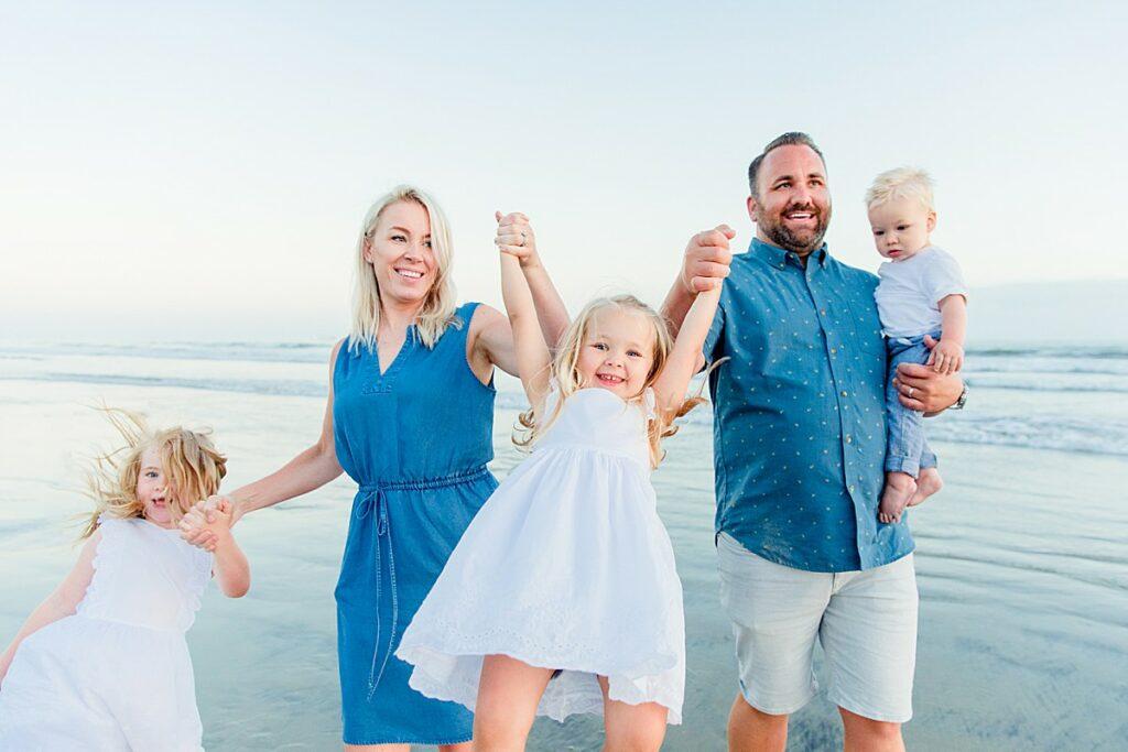 Family Fun Beach Photos