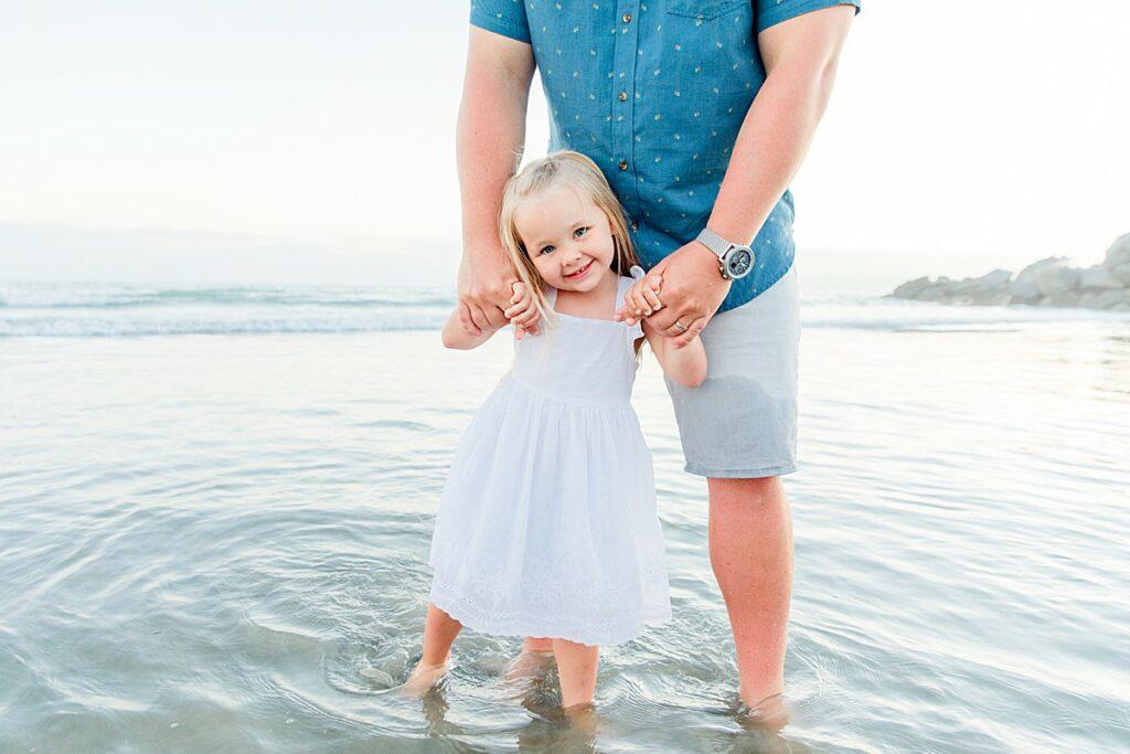 Daddy Daughter Beach Photos