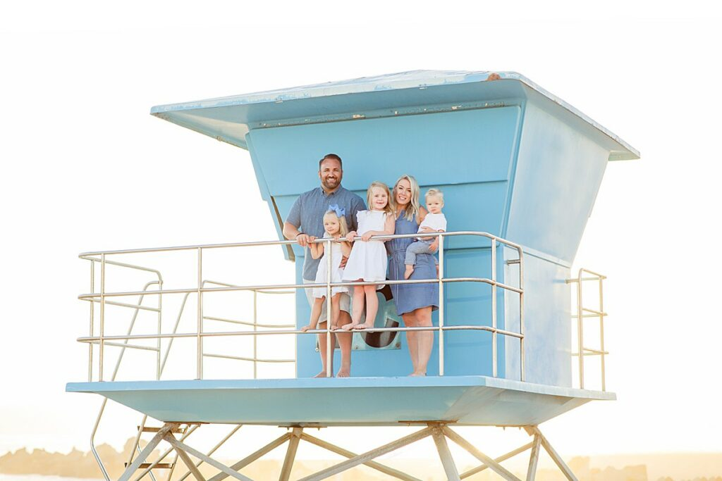 Lifeguard Tower Photo San Diego