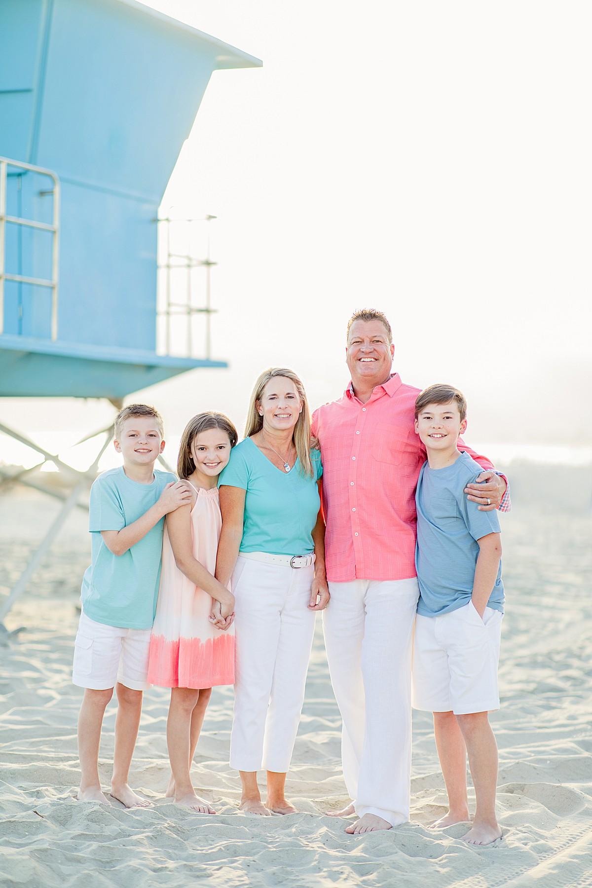 Family Photos on Coronado