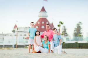Hotel del Coronado Family Photo