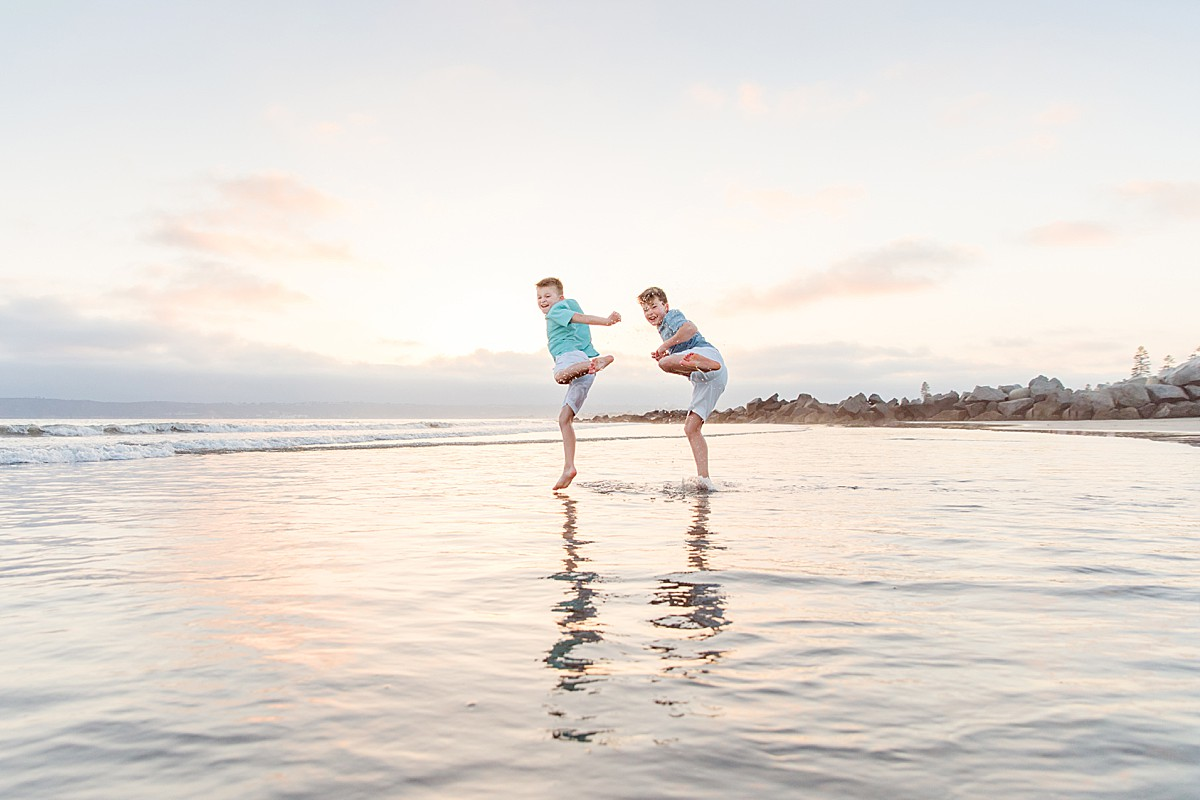 Martial Arts on the Beach