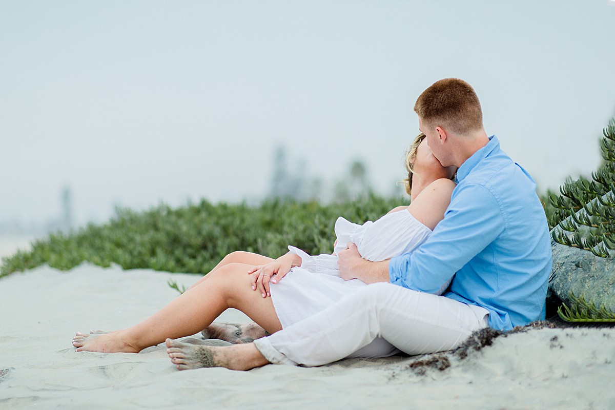 Professional Engagement Beach Photos