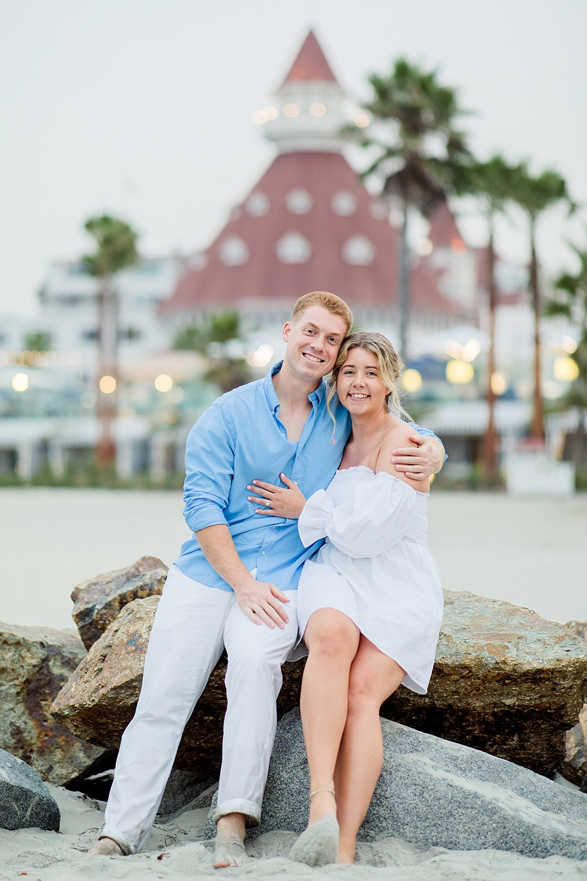 Hotel del Coronado Engagement Photos