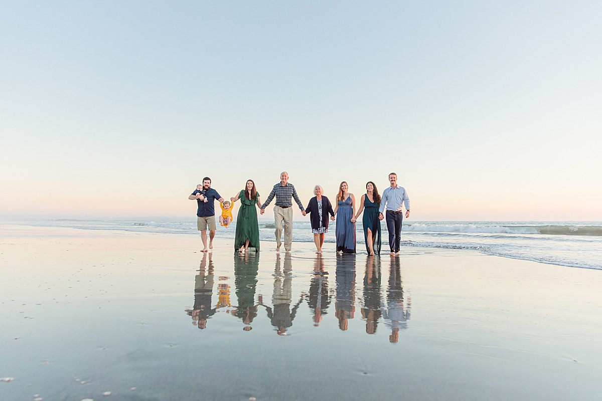 Extended Family Portraits in San Diego