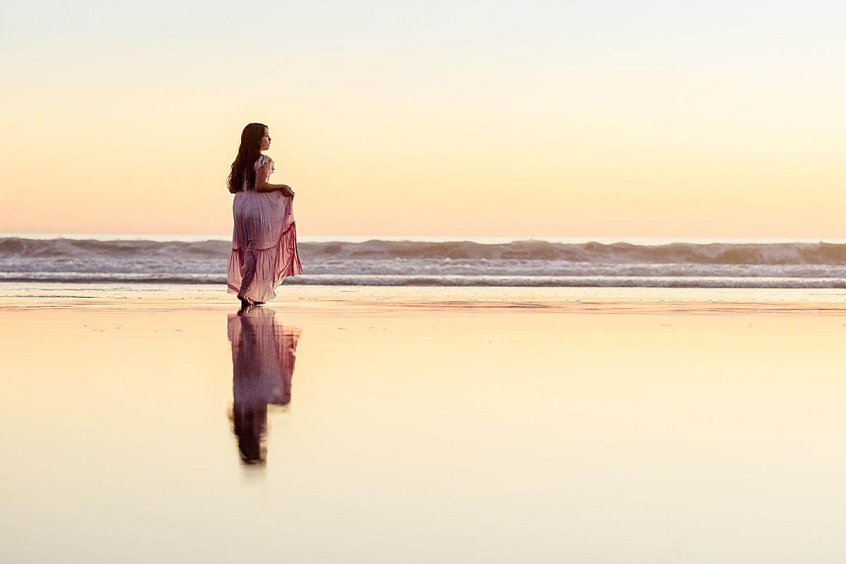 Girl on the Beach Photo San Diego
