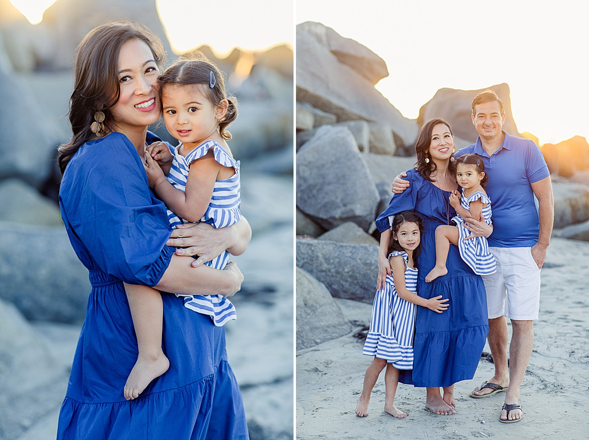 Family Portraits at the Hotel Del Coronado