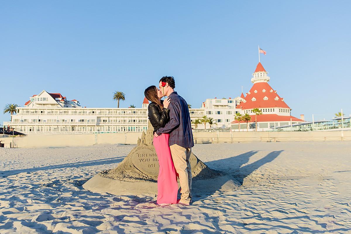 Proposal at Hotel del Coronado