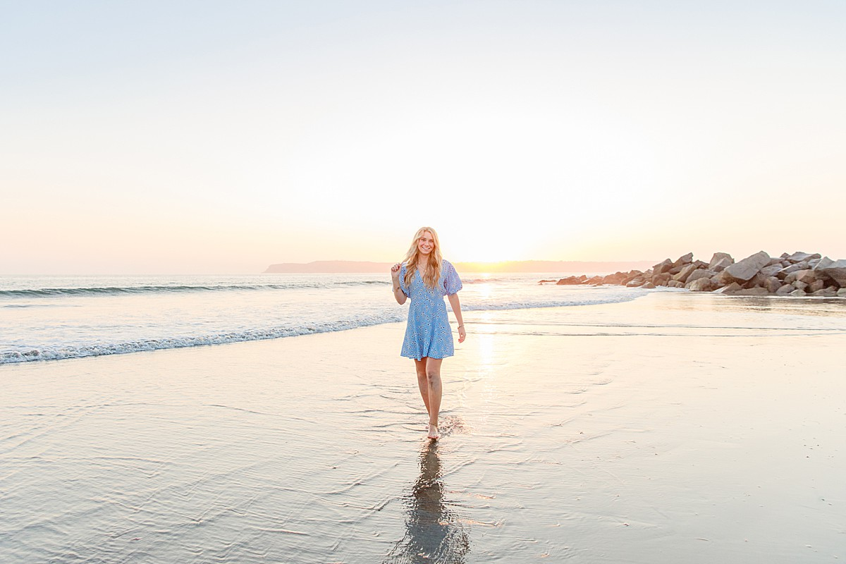 Senior Photos at the Beach in San Diego