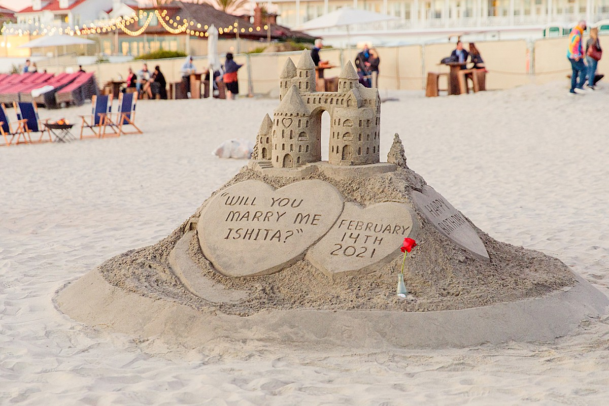 Sandcastle Man Hotel del Coronado