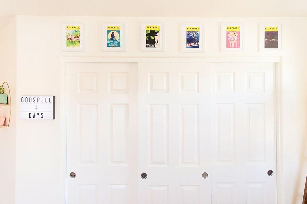 Playbill Display Ideas