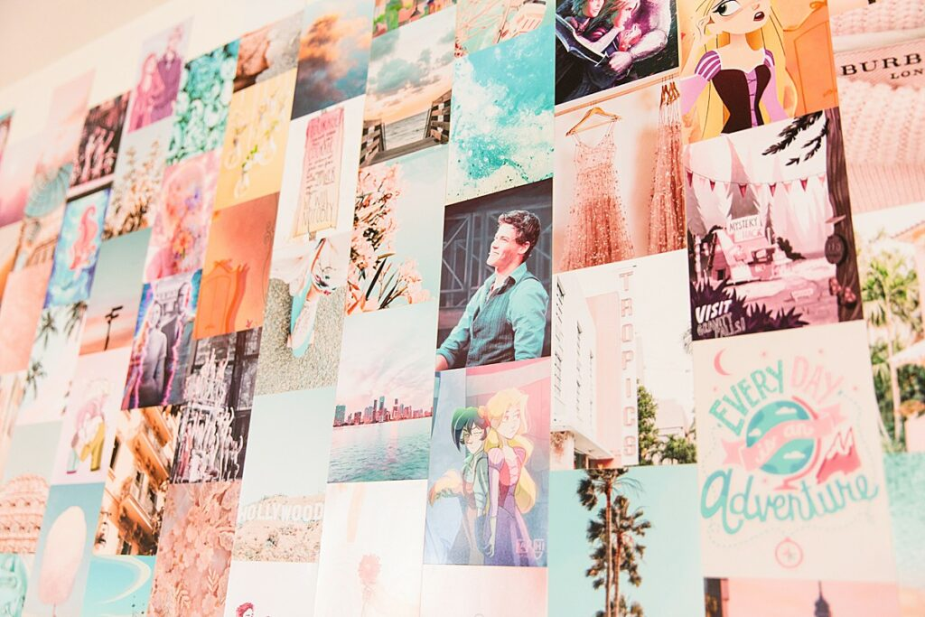 Collage Aesthetic Wall