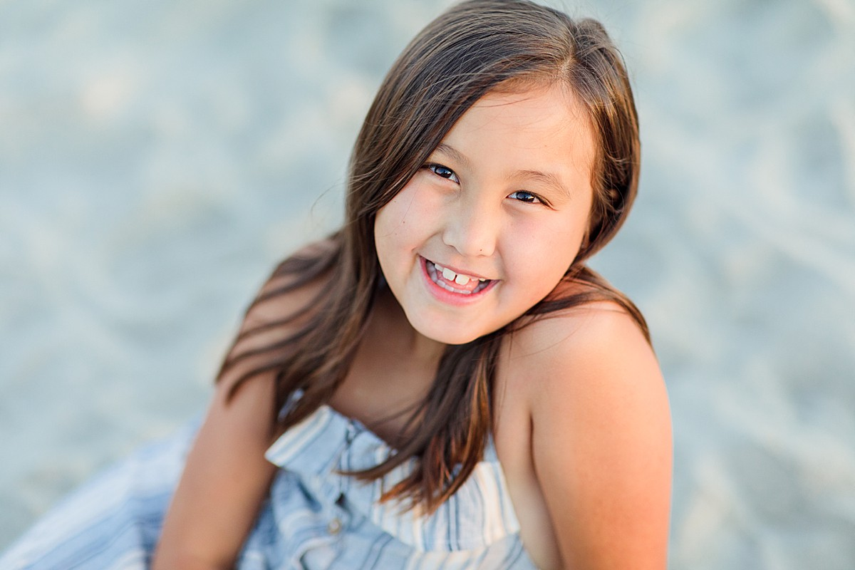 Girl at the Beach California